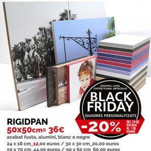 Rigidpan personalitzat Black Friday