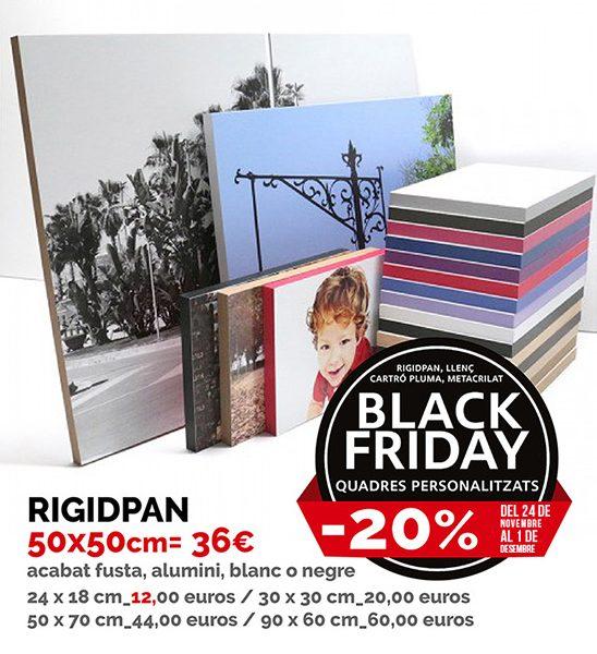 Rigidpan personalitzat Black Friday