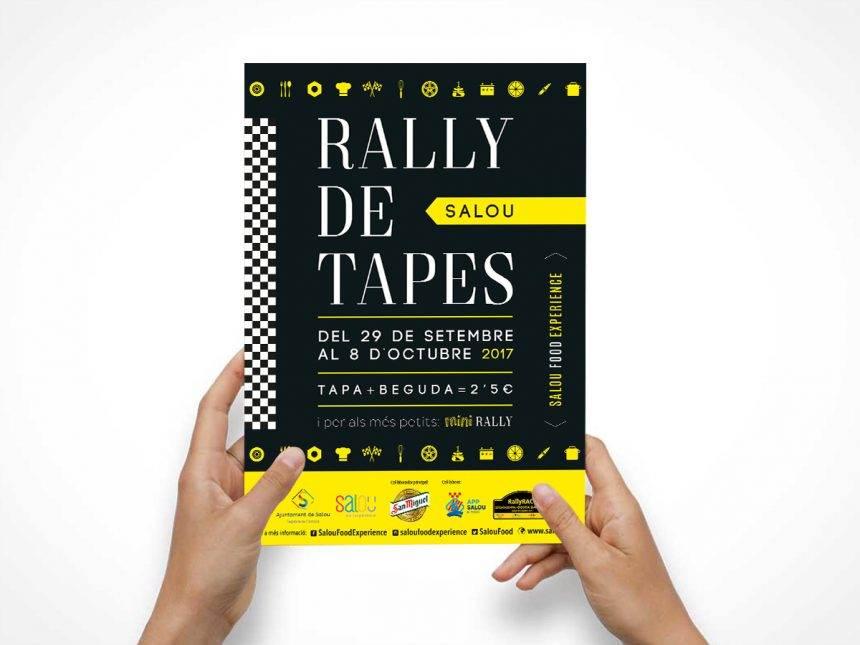 Disseny gràfic Rally de Tapes Salou 2017